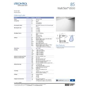 85 Specification Sheet
