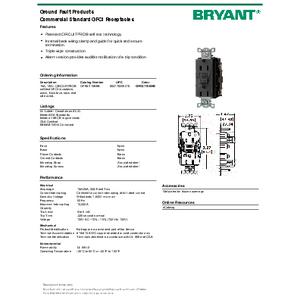 BRYANT_GFRST15BKB_spec