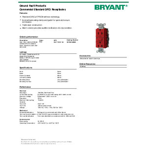 BRYANT_GFRST20RB_spec
