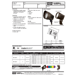 Colt Flood spec sheet
