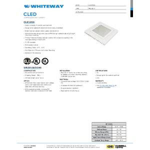 CLED Spec Sheet