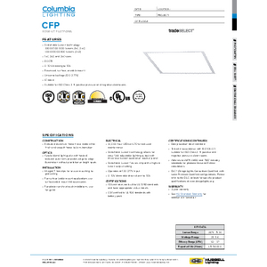 CFP Specification Sheet