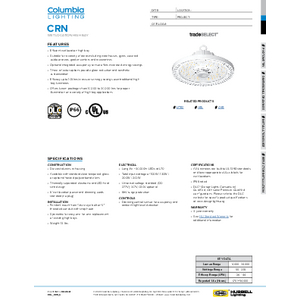 CRN Specification Sheet