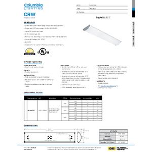 CRW Specification Sheet