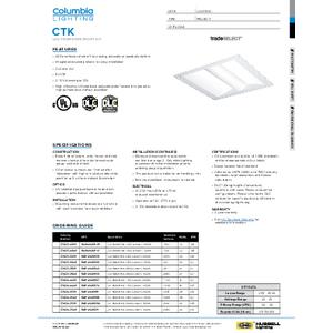 CTK Specification Sheet
