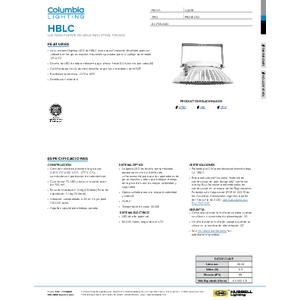 HBLC Especificaciones