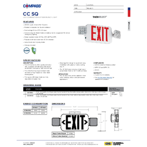 CC SQ Series Specification Sheet