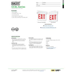 CCEL Spec Sheet
