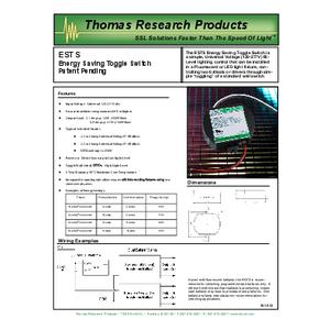 ESTS Specification Sheet