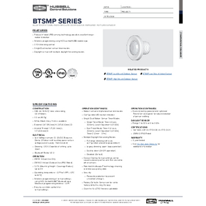 BTSMP-OMNI Specification Sheet