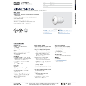 BTSMP-LMI Specification Sheet
