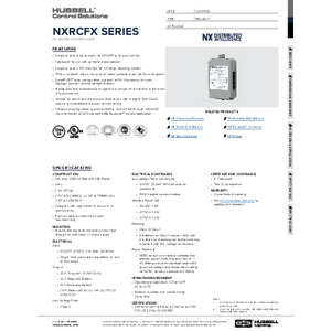 FX Room Controller Specification Sheet