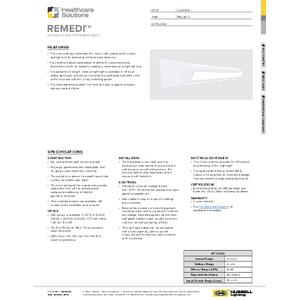 Remedi Specification Sheet