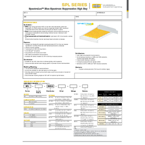 SPL Specification Sheet