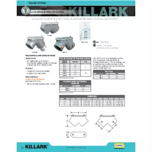CL-CLM-SOLB-TWCL-DS SERIES_PULLING ELBOW AND DUCT SEAL Specification Sheet