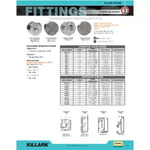 CUP & PLUG Series Specification Sheet