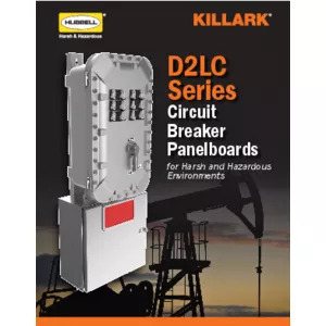 D2LC Series Panelboards Specification Sheet