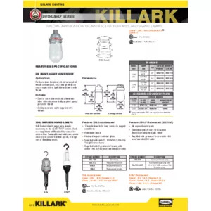 DV & XHL Series Specification Sheet