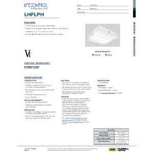 LHFLPH PowerHUBB Specification Sheet