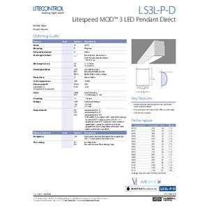 LITESPEED 3L-P-D Spec Sheet
