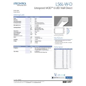 LITESPEED 6L-W-D Spec Sheet
