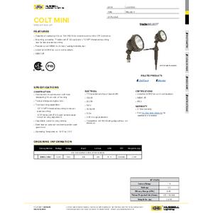 MBUL Specification Sheet