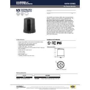 NX On-Fixture Module - 7-pin Specification Sheet