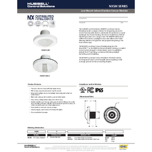 NX Low Mount Indoor/Outdoor Sensor Module