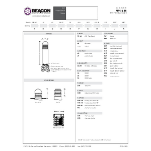 PB 142 Specification Sheet