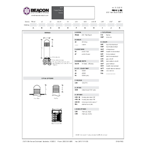 PB 242 Specification Sheet