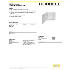 NSOBXP14 Specification Sheet
