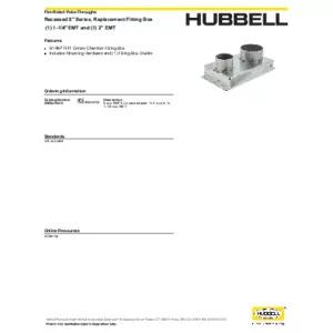S1R8JNC10 Specification Sheet