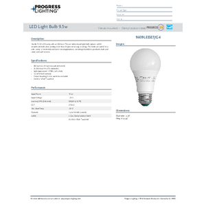 9A19LED27G4 LED Lamps