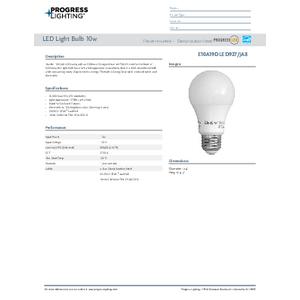 E10A19DLED927JA8 LED Lamps