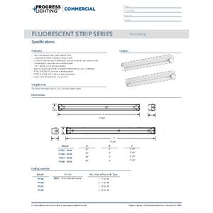 Flo strip Series Modular Fluorescent