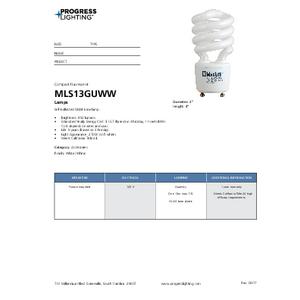 MLS13GUWW Lamps