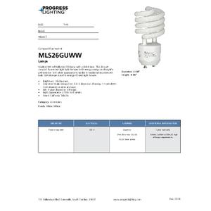 MLS26GUWW Lamps