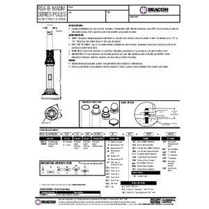 RSA B MADM Specification Sheet