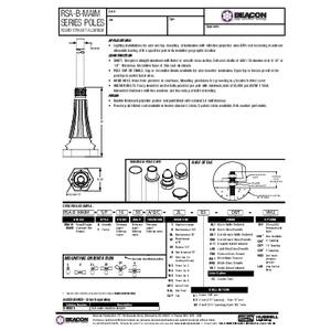 RSA B MAIM Specification Sheet
