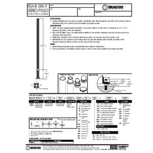 RSA B SHO F Specification Sheet