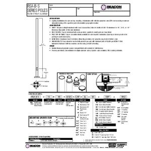 RSA B S Specification Sheet