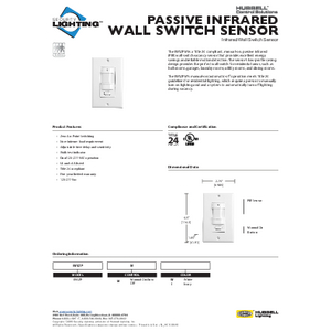 IWSZPM Specification Sheet