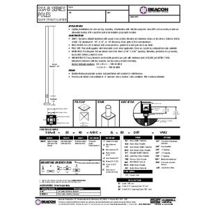 SSA B Specification Sheet
