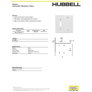 NPJ113W Specification Sheet