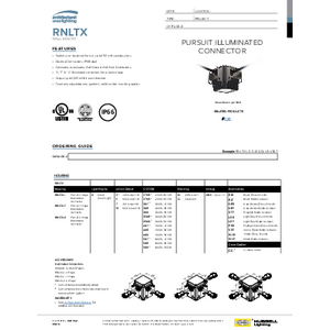 Corners Spec Sheet