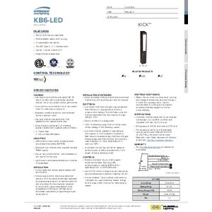 KicK™ Bollard Spec Sheet