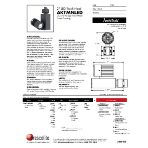 AKTMNLED Specification Sheet