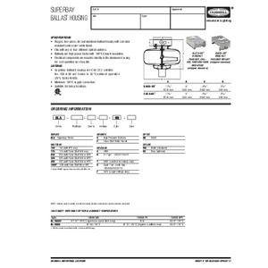 BLA Specification Sheet