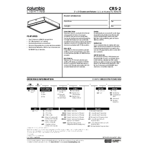 CRS-2 Specification Sheet