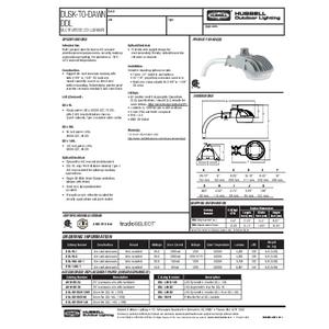 DDL Multi-purpose LED Dusk-to-Dawn Spec Sheet